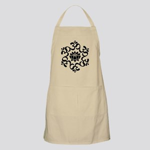 Buddhist Sacred Indian Lotus Flower Buddha O Apron