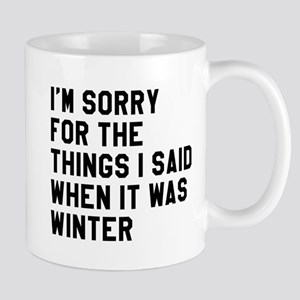 When It Was Winter Mug