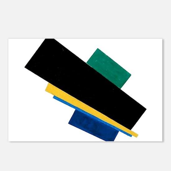 Kazemir Malevich Soviet R Postcards (Package of 8)