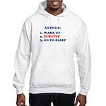 AGENDA TO SURVIVE Hooded Sweatshirt