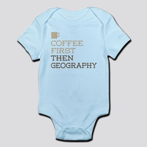 Coffee Then Geography Body Suit