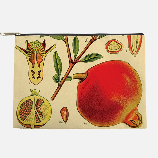 Vintage Pomegranate Makeup Bag