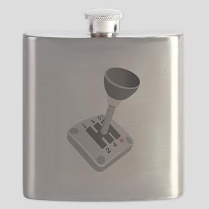 Gear Shift Flask
