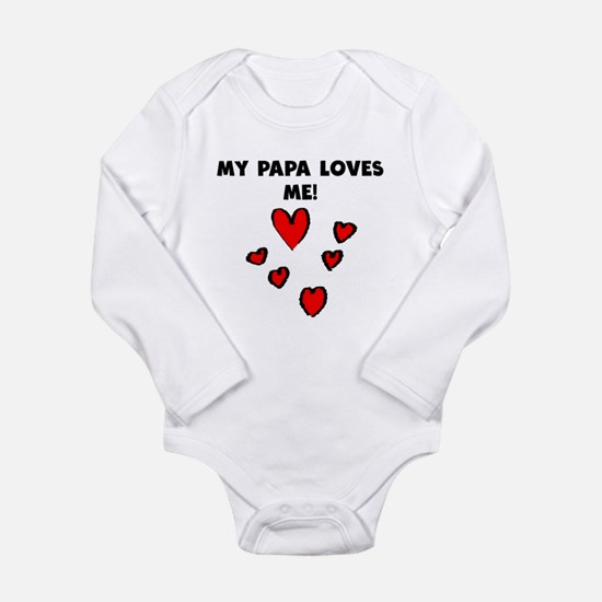 My Papa Loves Me Body Suit