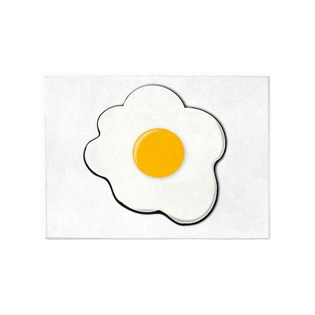 Sunny Side Up Egg 5u0027x7u0027Area Rug Idea
