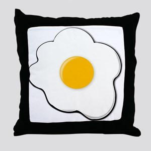 Sunny Side Up Egg Throw Pillow