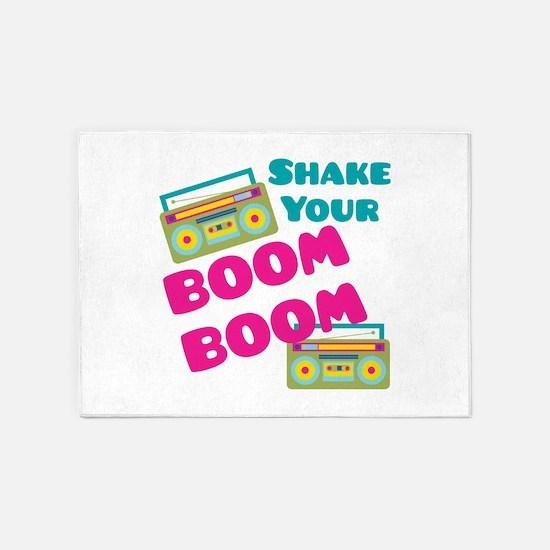Shake Your Boom 5'x7'Area Rug