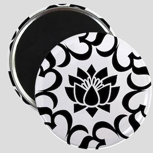 Buddhist Sacred Indian Lotus Flower Buddha Magnets