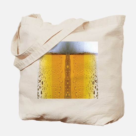 Oktoberfest Foaming Beer Tote Bag