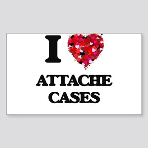 I Love Attache Cases Sticker
