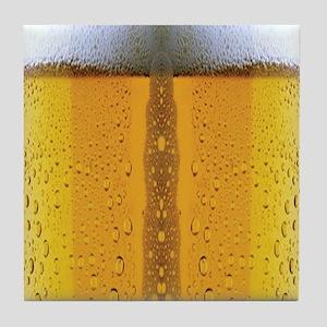 Oktoberfest Foaming Beer Tile Coaster