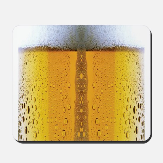 Oktoberfest Foaming Beer Mousepad