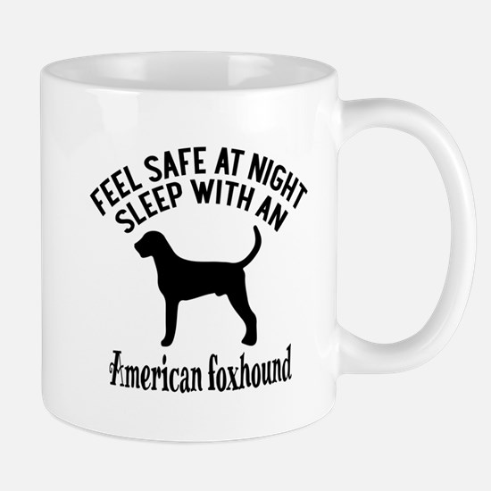 Sleep With American Foxhound Dog Mug