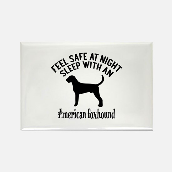 Sleep With American Fo Rectangle Magnet (100 pack)