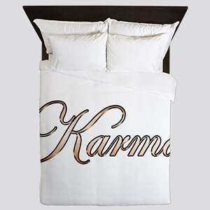 Gold Karma Queen Duvet