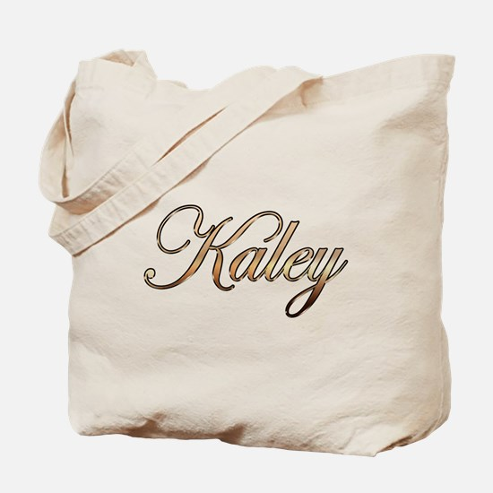 Gold Kaley Tote Bag