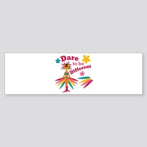 Be Different Bumper Sticker