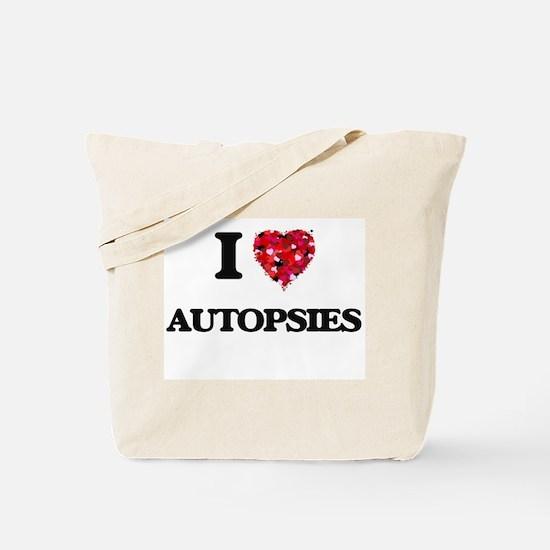 I Love Autopsies Tote Bag
