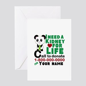Personalize, Kidney Donation Greeting Card