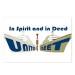 THE UNITED FLEET Postcards (Package of 8)
