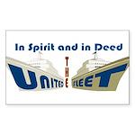 THE UNITED FLEET Sticker
