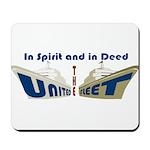 THE UNITED FLEET Mousepad
