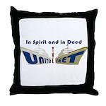 THE UNITED FLEET Throw Pillow