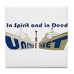 THE UNITED FLEET Tile Coaster