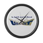 THE UNITED FLEET Large Wall Clock