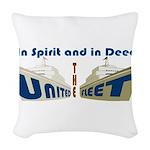 THE UNITED FLEET Woven Throw Pillow