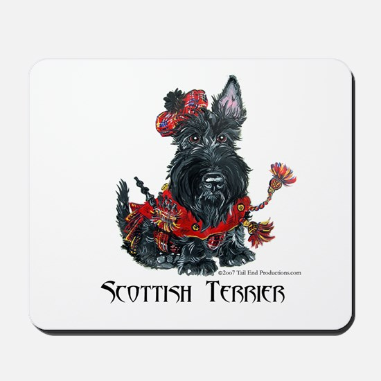 Celtic Scottish Terrier Mousepad