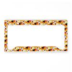 Fire Clownfish Pattern License Plate Holder