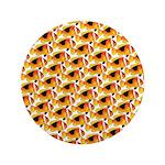 Fire Clownfish Pattern Button