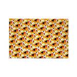 Fire Clownfish Pattern Magnets