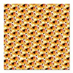 Fire Clownfish Pattern Square Car Magnet 3