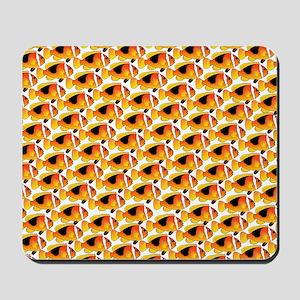 Fire Clownfish Pattern Mousepad