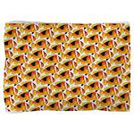 Fire Clownfish Pattern Pillow Sham