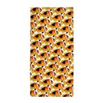 Fire Clownfish Pattern Beach Towel
