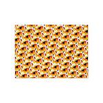 Fire Clownfish Pattern 5'x7'Area Rug