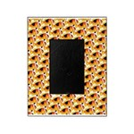 Fire Clownfish Pattern Picture Frame