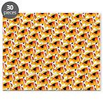 Fire Clownfish Pattern Puzzle
