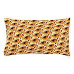 Fire Clownfish Pattern Pillow Case