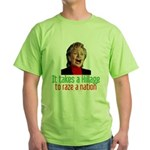 Takes a Hillage anti-Hillary Green T-Shirt