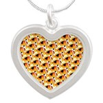 Fire Clownfish Pattern Necklaces