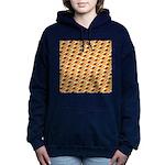 Fire Clownfish Pattern Women's Hooded Sweatshirt