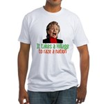 Takes a Hillage anti-Hillary Fitted T-Shirt