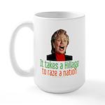 Takes a Hillage anti-Hillary Large Mug