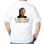 Takes a Hillage anti-Hillary Golf Shirt