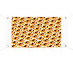 Fire Clownfish Pattern Banner