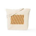 Fire Clownfish Pattern Tote Bag